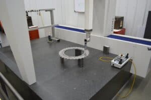 CMM Inspection Helps Robinson Metal Authenticate Accuracy