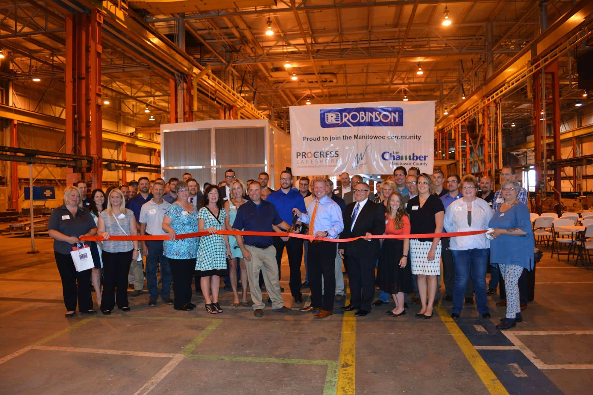 Manitowoc Facility Ribbon Cutting