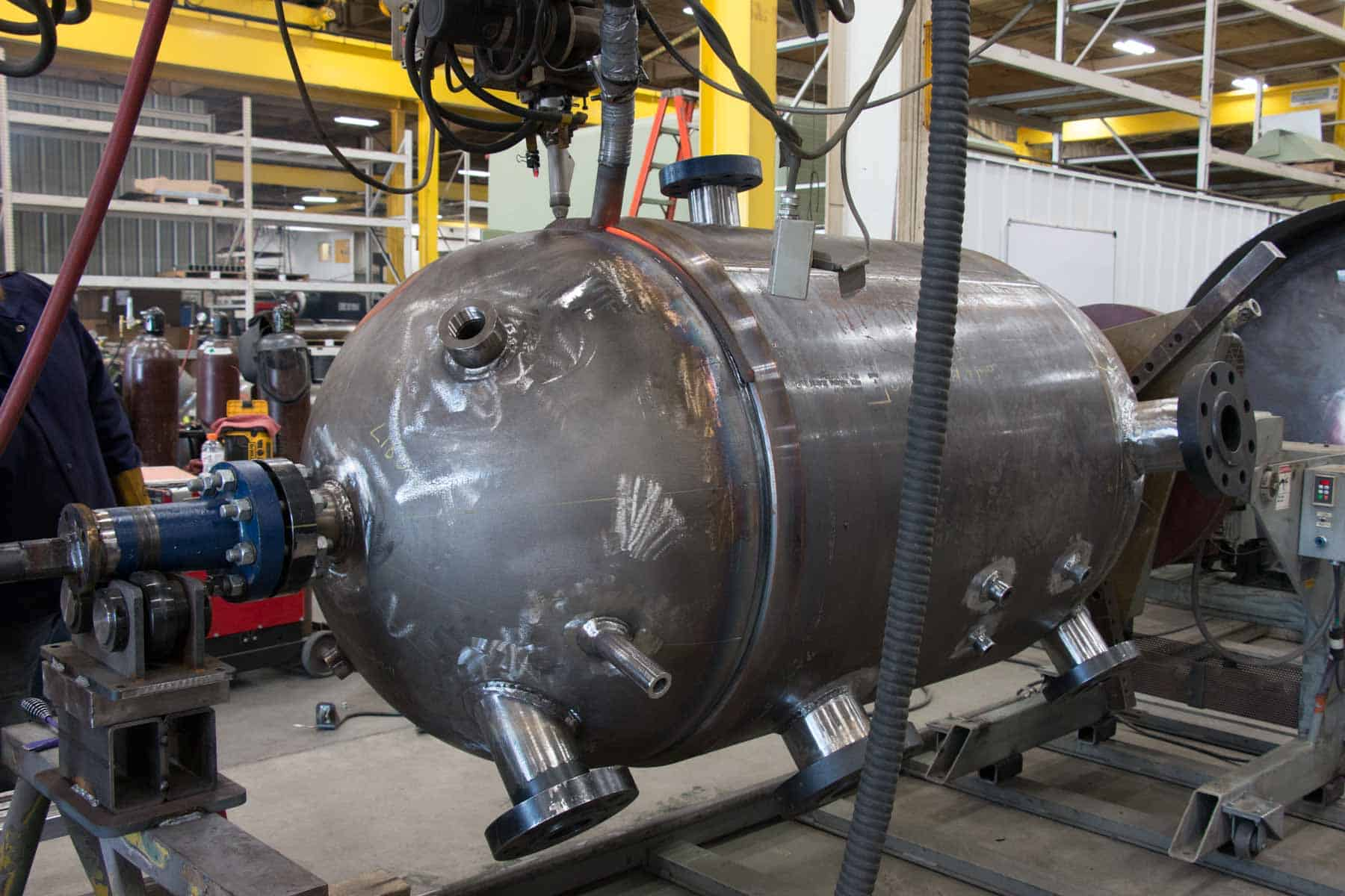 Safety is the top priority for pressure vessel manufacturers