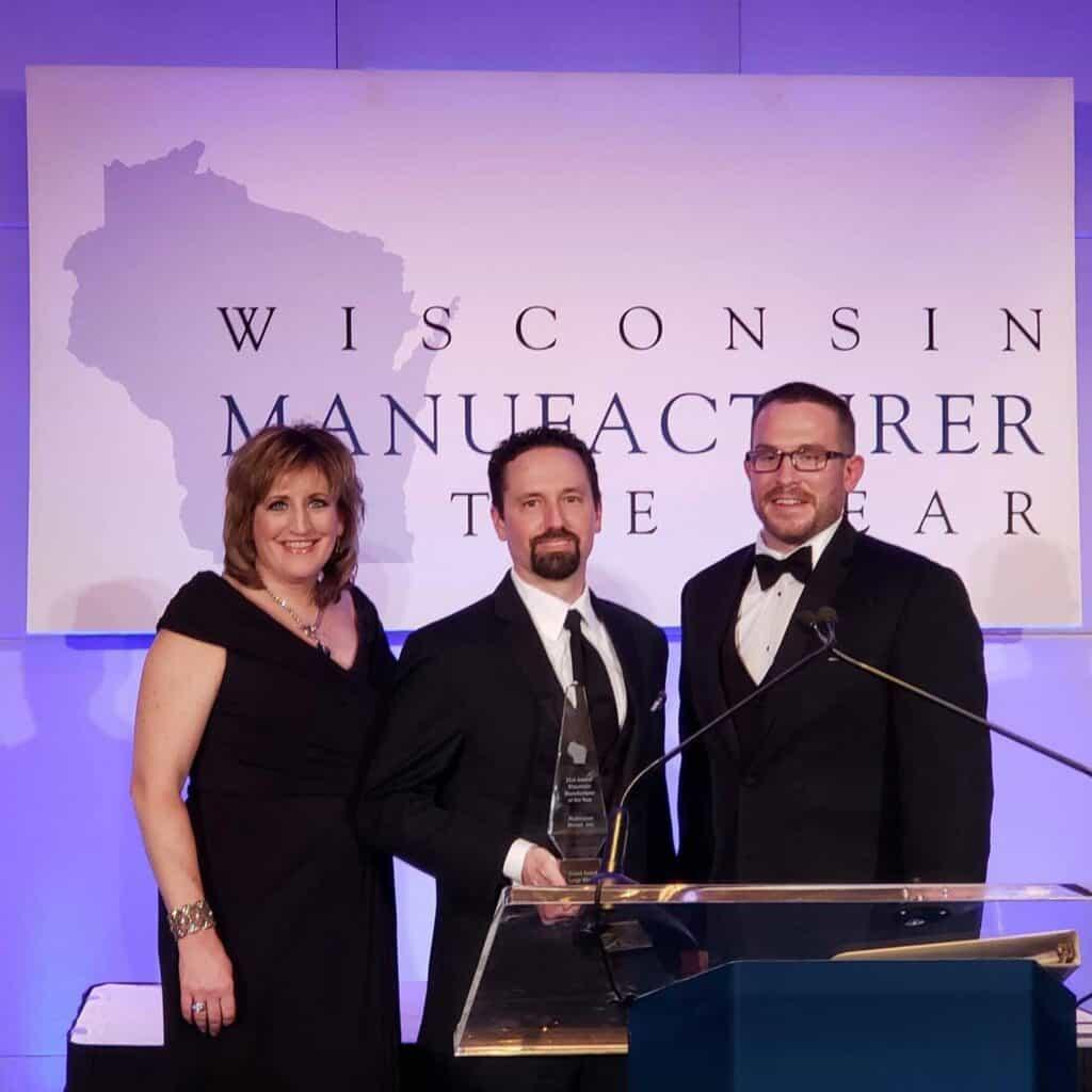 2019 Wisconsin Manufacturer of the year Award winner