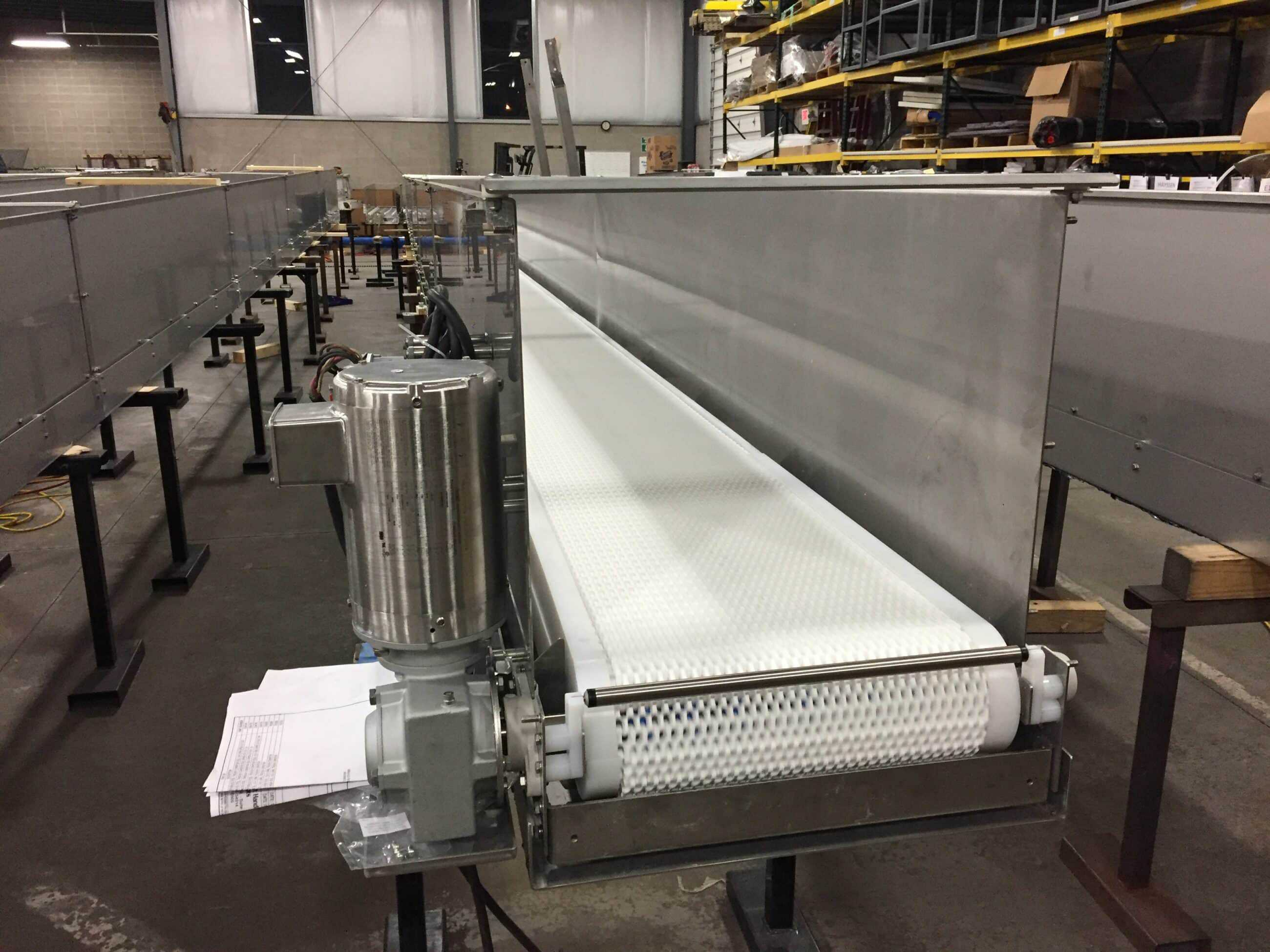 Robinson's packaging conveyor expertise fits food grade needs