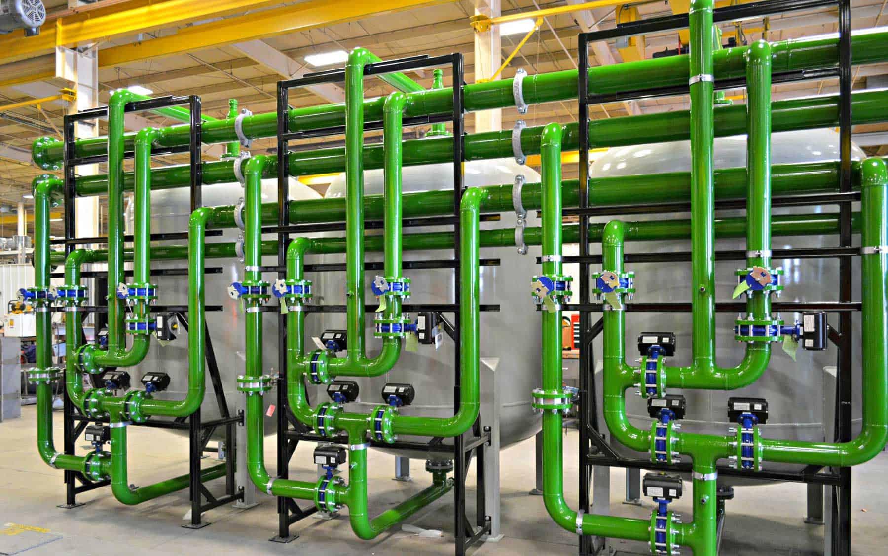 Integration capabilities separate pressure vessel fabricators
