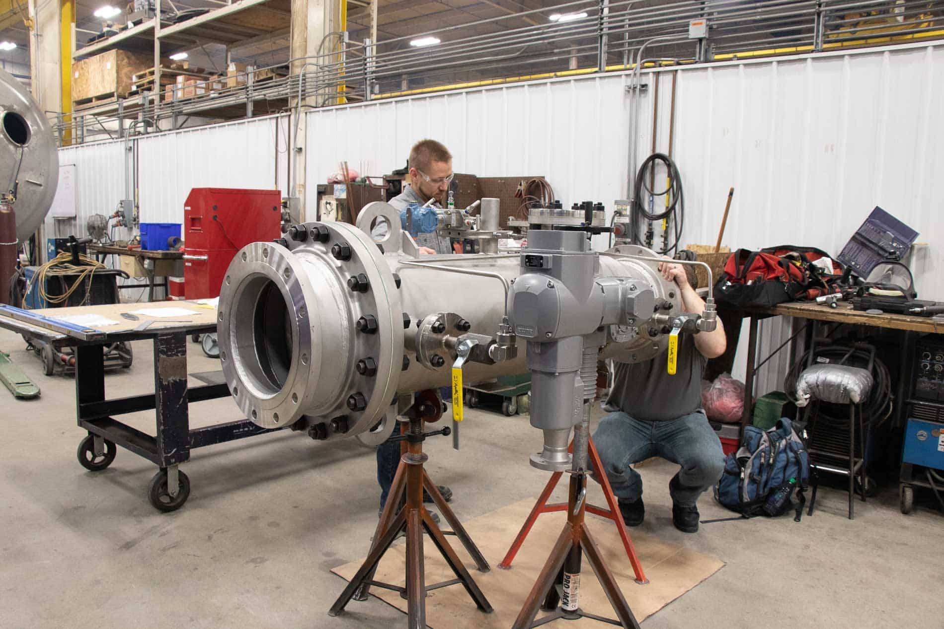 Tolerance requirements are key to pressure piping fabrication
