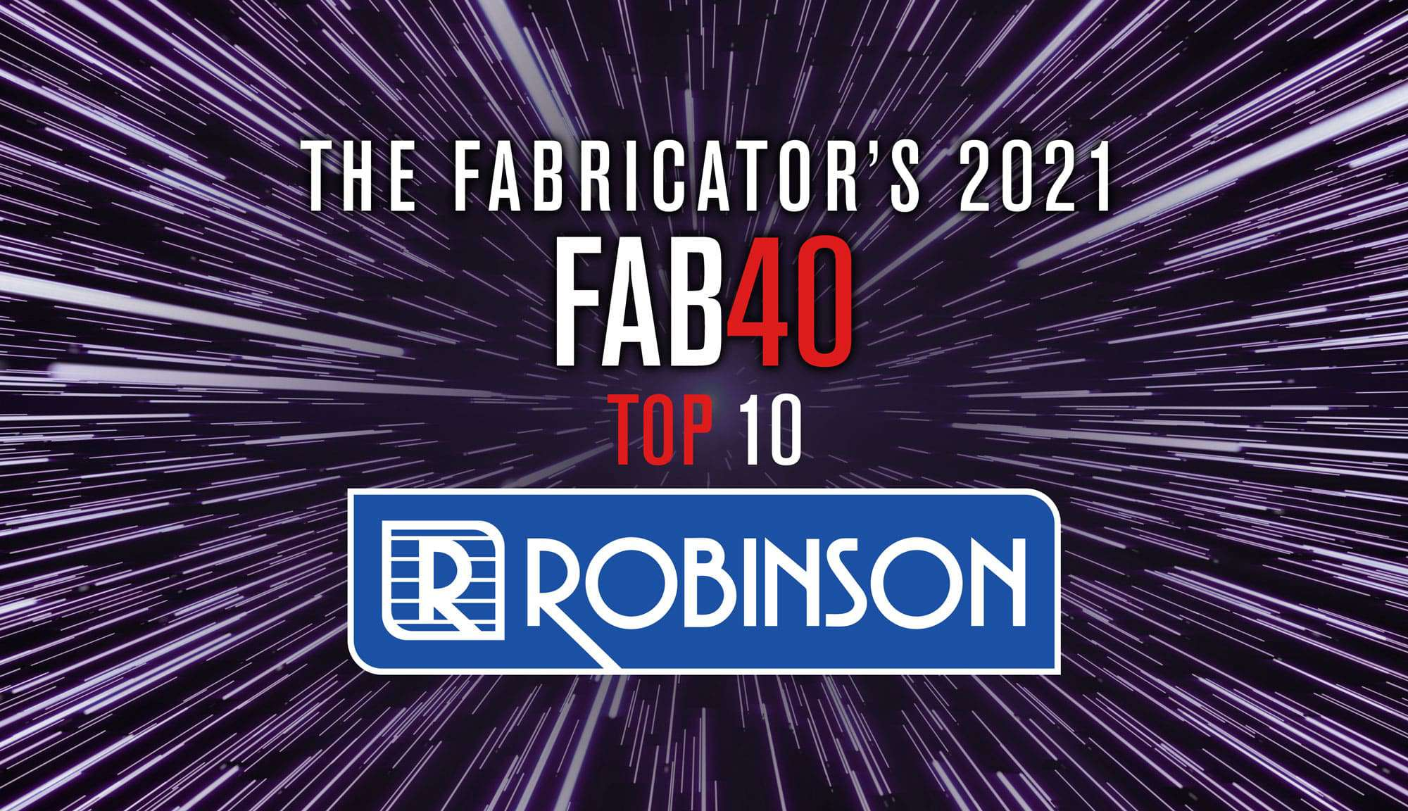 """You are currently viewing Robinson moves into the top 10 on """"The Fabricator"""" FAB 40 list"""