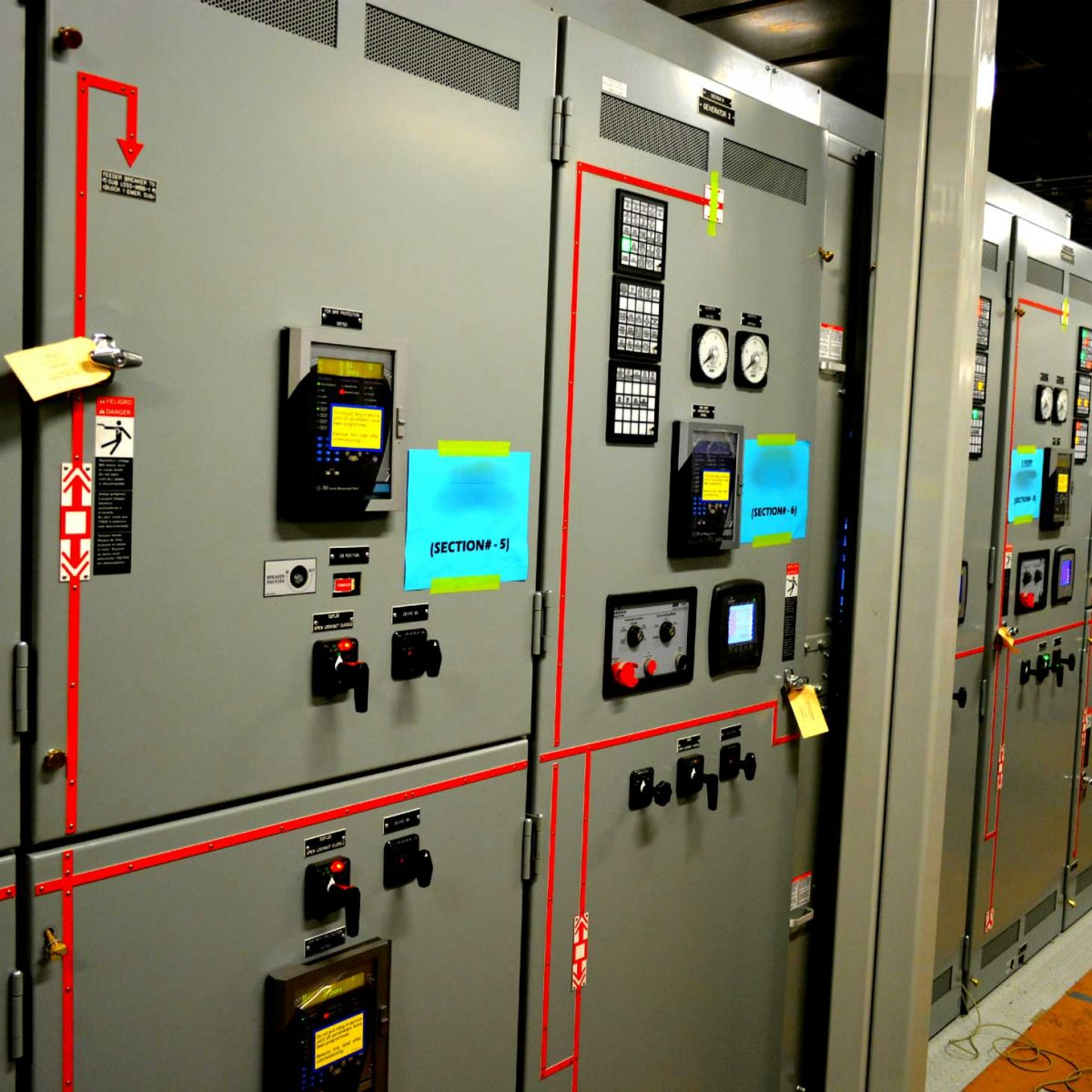 Columbia Switchgear Enclosure