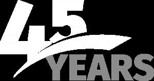Robinson 45 Years graphic